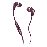 Skullcandy 50/50 w/Mic3 Plum/Chrome
