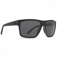 VonZipper DIPSTICK Black Satin/Grey Chrome
