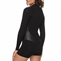 Roxy 2M SATIN LSSP J BLACK