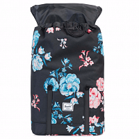 Herschel RETREAT MID-VOLUME Pastel Petals/Black Rubber