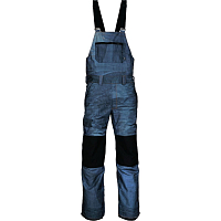 686 MNS HOT LAP INSL BIB INDIGO DENIM SUBLIMATION
