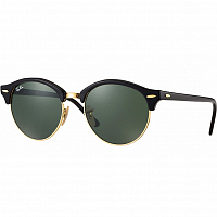 RAY BAN CLUBROUND Black/Green