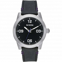 Nixon G.I. LEATHER BLACK