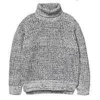 Carhartt WIP W' KEEGO SWEATER WHITE-BLACK