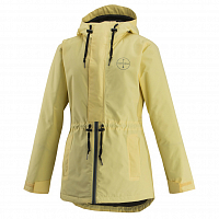 Airblaster WMN'S STAY WILD PARKA Pale Yellow