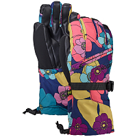 Burton YOUTH VENT GLV FLOWERS!