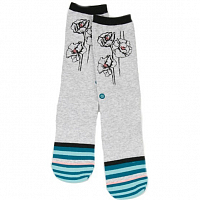 Stance BLUE WOMEN LADYBIRD GREEN HEATHER