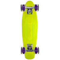 SUNSET SKATEBOARDS ALIEN COMPLETE 22 SS15 GREEN DECK- BLACKLGHT WHEELS
