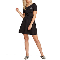 Volcom ANIMAL HOUR DRESS BLACK