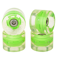 SUNSET SKATEBOARDS CRUISER WHEEL WITH ABEC9 GREEN