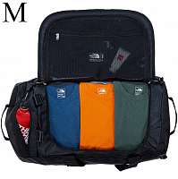 The North Face BASE CAMP DUFFEL TNF BLACK (JK3)