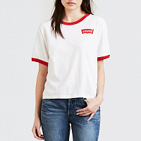 LEVI'S® GRAPHIC RINGER J.V. TEE Left Chest JV Rin