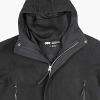CODERED SECTOR COAT COR BLACK