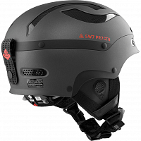 SWEET PROTECTION TROOPER HELMET MATTE BLACK METALLIC