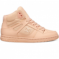 DC REBOUND HIGH J SHOE PEACH CREAM
