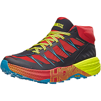 HOKA M SPEEDGOAT MID WP CHINESE RED/CARIBBEAN SEA