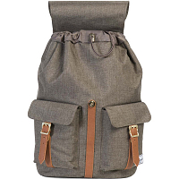 Herschel STUDIO DAWSON X-LARGE Canteen Crosshatch/Tan Synthetic Leather