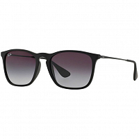 Ray Ban Chris RUBBER BLACK/LIGHT GREY GRADIENT DARK GREY