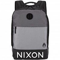 Nixon BEACONS BACKPACK BLACK/DARK GRAY