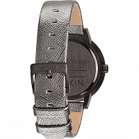 Nixon Kensington Leather GUNMETAL SHIMMER