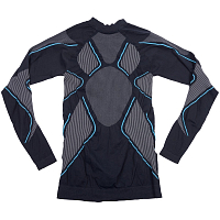 BODY DRY PULSAR LONG SLEEVE SHIRT GREY/BLUE