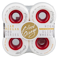 BLOOD ORANGE WHEELS MORGAN PRO SERIES White