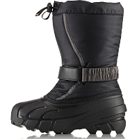 Sorel CHILDRENS FLURRY Black, City Grey