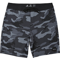 RVCA VA TRUNK PRINT CHARCOAL BLACK