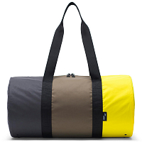 Herschel PACKABLE DUFFLE Sulfur Spring/Olive Night/Black Reflective