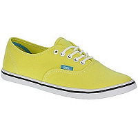 Vans Authentic Lo Pro (Pop) yellow/cyan blue