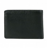 Rusty LOW RIVER LEATHER WALLET BLACK