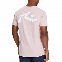 Rusty COMPETITION SHORT SLEEVE TEE PALE MAUVE