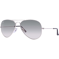 Ray Ban AVIATOR LARGE METAL SILVER/CRYSTAL GREY GRADIENT