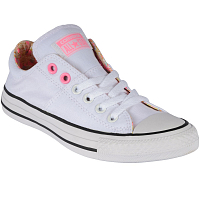 CONVERSE CHUCK TAYLOR ALL STAR MADISON OX WHITE/PINK GLOW/SUNSET GLOW