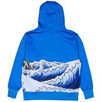 RIPNDIP GREAT WAVE HOODIE BLUE