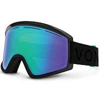 VonZipper CLEAVER Black Gloss/ Satin/Quasar Chrome