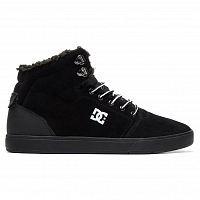 DC CRISIS HIGH WNT M SHOE BLACK/WHITE/BLACK