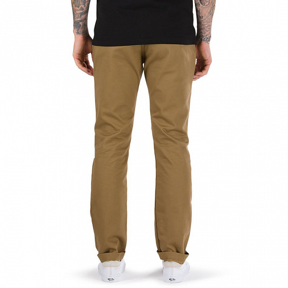 Брюки VANS MN AUTHENTIC CHINO STRETCH SS17 от Vans в интернет магазине www.traektoria.ru - 2 фото