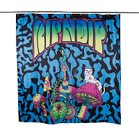 RIPNDIP PSYCHEDELIC SHOWER CURTAIN ASSORTED