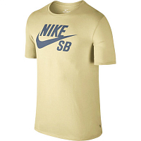 Nike SB LOGO TEE LEMON WASH/THUNDER BLUE