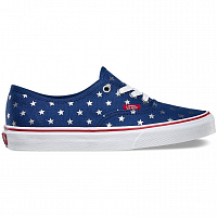 Vans Authentic (Studded Stars) red/blue