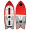 Ronix KOAL W/ TECHNORA - POWERFISH+ Metallic Orange / White