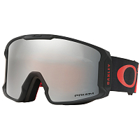 Oakley LINE MINER HARLAUT SIG SHREDBOT RED BLACK/PRIZM SNOW BLACK IR