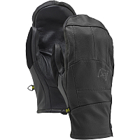 Burton M AK LTHR TECH MITT TRUE BLACK