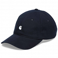 Carhartt MADISON LOGO CAP WHITE / DARK NAVY