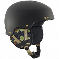 Anon STRIKER CIRCLE CAMO BLACK EU