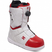 DC SCOUT M BOAX WHITE/RED