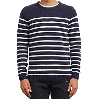 Volcom EDMONDER STRIPED NAVY
