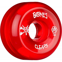 Bones SKATEPARK CLEAR RED
