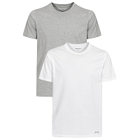 Carhartt STANDARD CREW NECK T-SHIRT WHITE + GREY HEATHER
